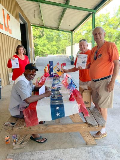 The Union Springs Herald newspaper was host to a book signing for Willie Spears on the 4th of July, 2020. The titles of his six books are, Spears Makes His Point, Transforming Your Life from Good to Great, The Ultimate Dilemma, Culture Creator, Keisha's Dilemma, and Derek's Dilemma. (Photo by Kim Graham)