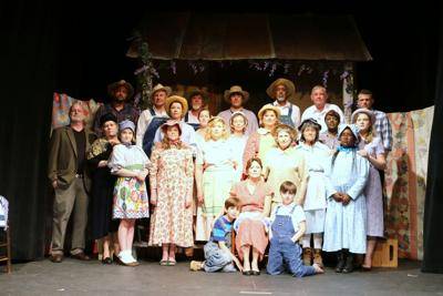 The cast of Conecuh People from 2015. Celebrate the Red Door Theatre's 15th Year on November 14 at the Annual Meeting of the Tourism Council of Bullock County.