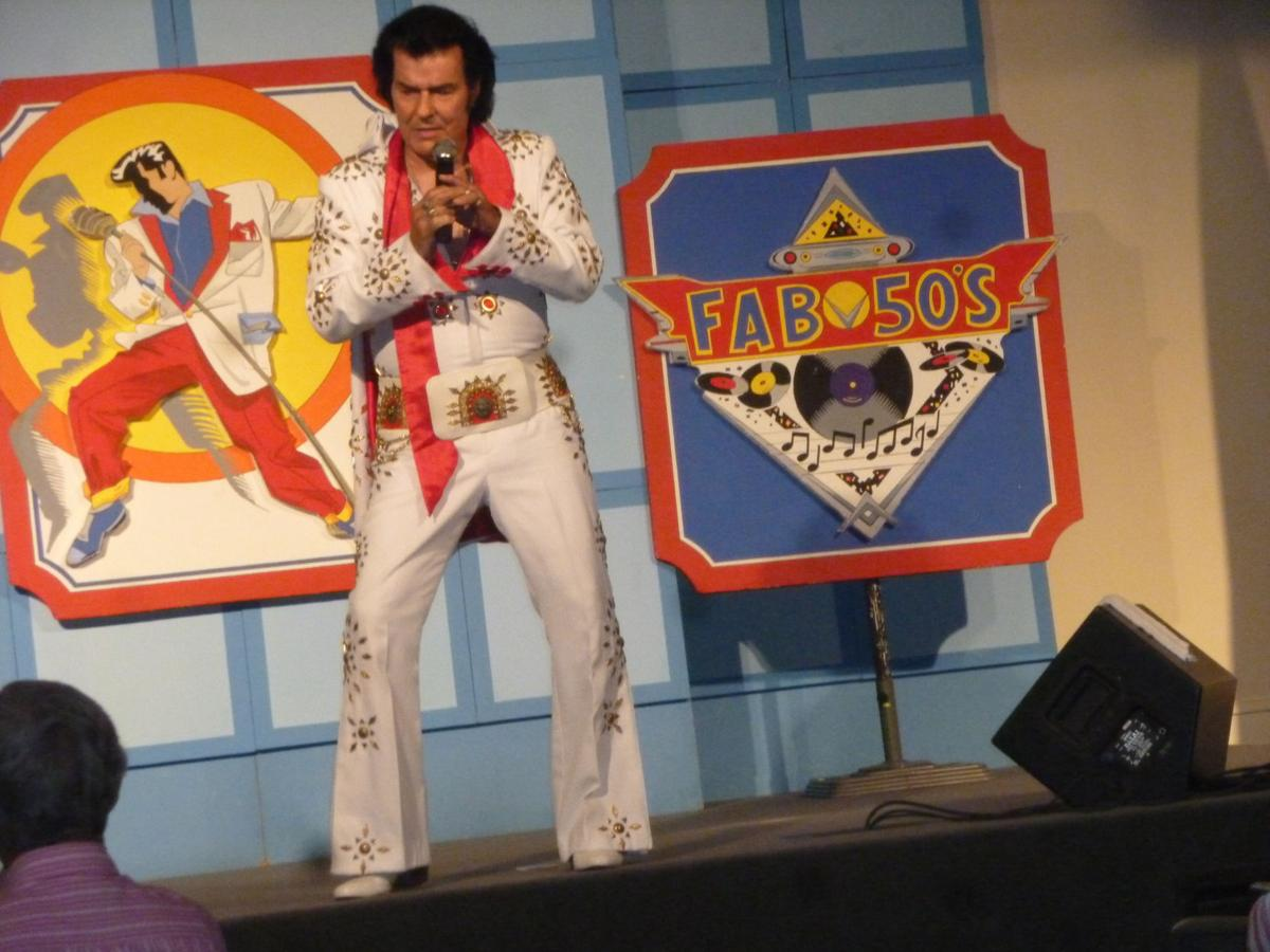 "Billy Joe Brooks, Elvis impersonator, performed songs at Frazer Memorial United Methodist Church in Montgomery on July 11, 2019 for several hundred senior citizens at the monthly ""Spirit"" program, a ministry for senior citizens at the church."