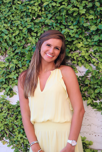 Hannah Hale has been selected to serve on the University of Alabama's Panhellenic Association.