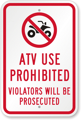 City considers banning four wheelers