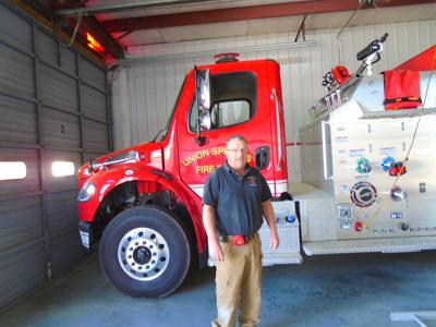 Rob Cameron, Chief of the Union Springs Fire Department