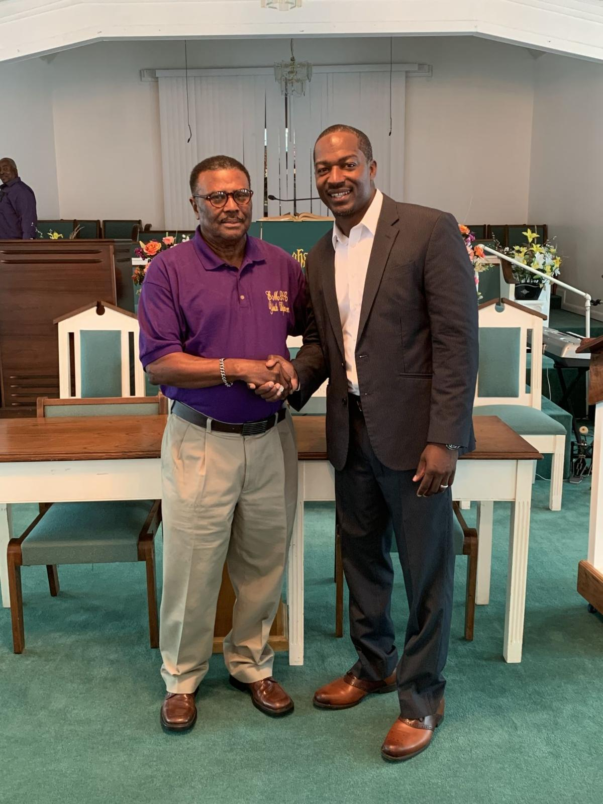 Pastor Hawthorne Reed and Min. Willie Spears