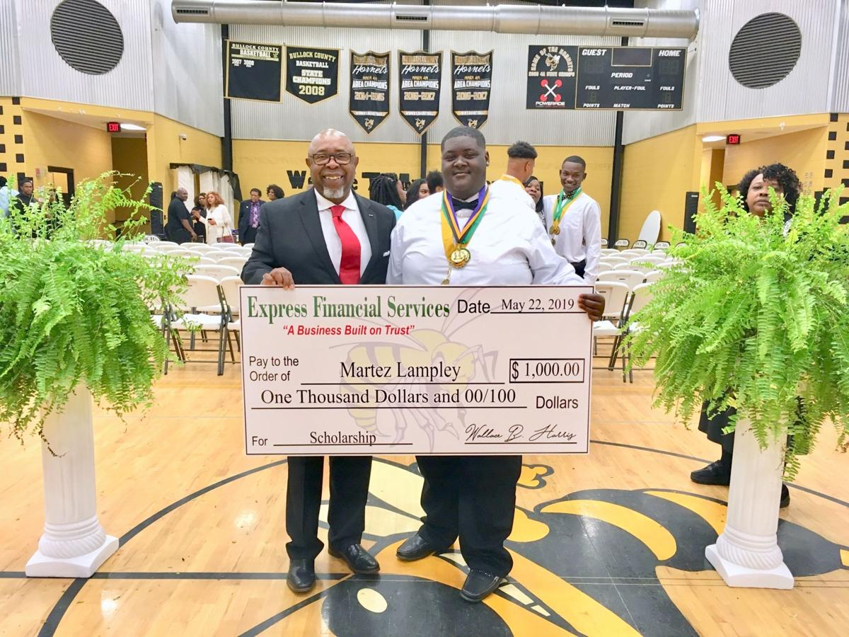 Wallace Harris and Martez Lampley