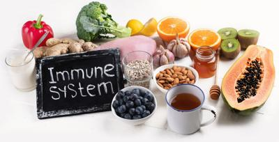 Remember, proper nutrition and physical activity are keys to tuning up an immune system.