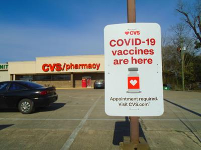 As a public service, the Herald is publishing information about COVID-19 vaccine shots being available at the local CVS store in Union Springs. These are administered by appointment only. The Centers for Disease Control and Prevention is administering the program of this federal partnership with local pharmacies. (Photo by Faye Gaston)