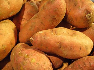 Sweet Potatoes are a favorite vegetable in Bullock County.