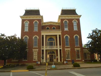 The Bullock County Registrar's office is located in the Bullock County Courthouse. (Photo by Faye Gaston)