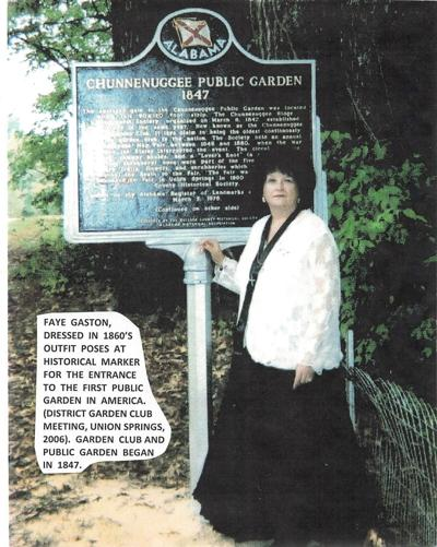 The Chunnenuggee Garden Club of Union Springs claims to be the oldest Garden Club in America. It will host the district VII Garden Clubs annual meeting in Union Springs for 14 Garden Clubs on October 19, 2021.