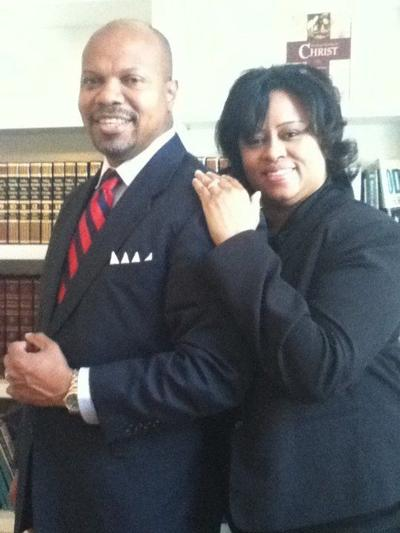 Kenneth pictured with his wife of 29 years, Yvette. They met at Tuskegee University and now reside in Tallahassee, FL.