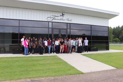 The Bullock County S.T.E.M. Summer Academy participants visited the local Franklin Field Airport Authority on Thursday, June 14, 2018.
