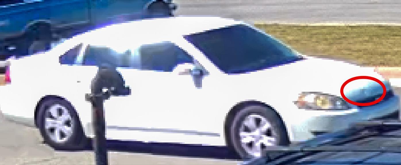 Chevrolet Impala suspect vehicle