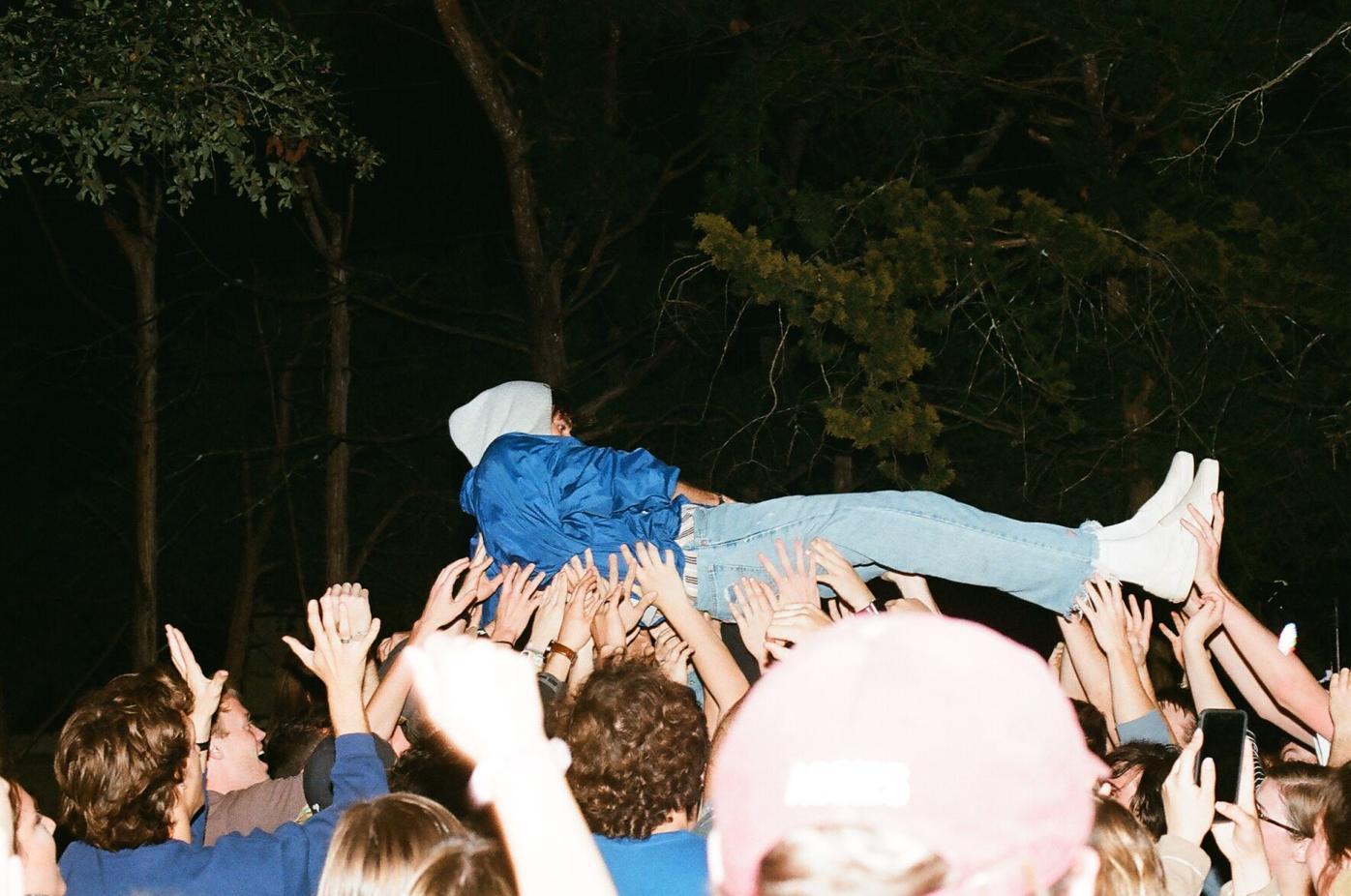 josef crowd surfing