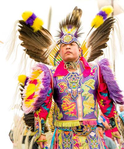 Head Man Dancer Cecil Gray