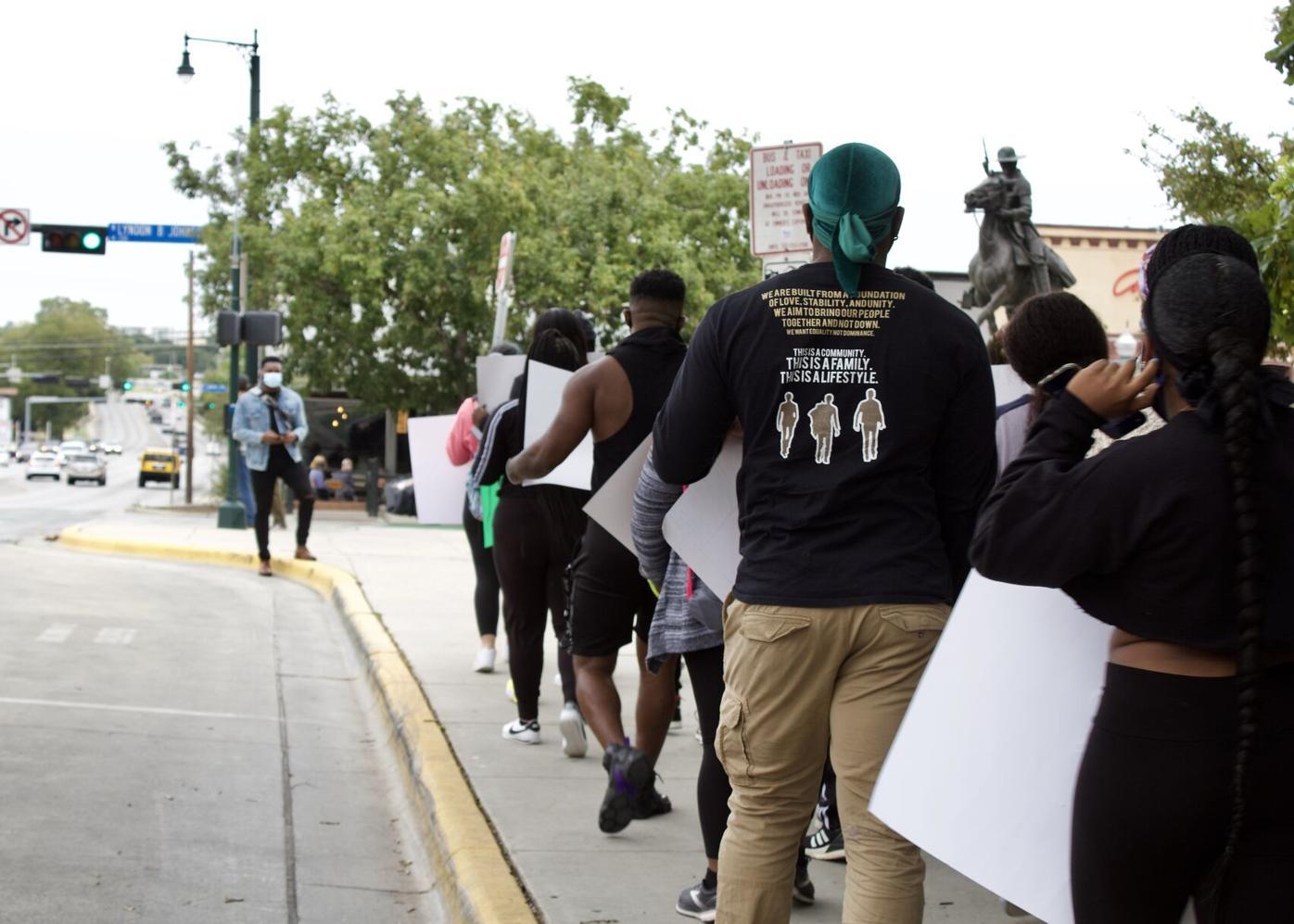 SARS protest
