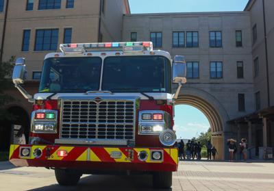San Marcos Fire Department truck