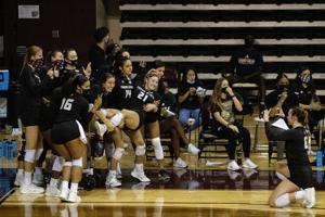 4 Texas State volleyball players named to All-Sun Belt teams