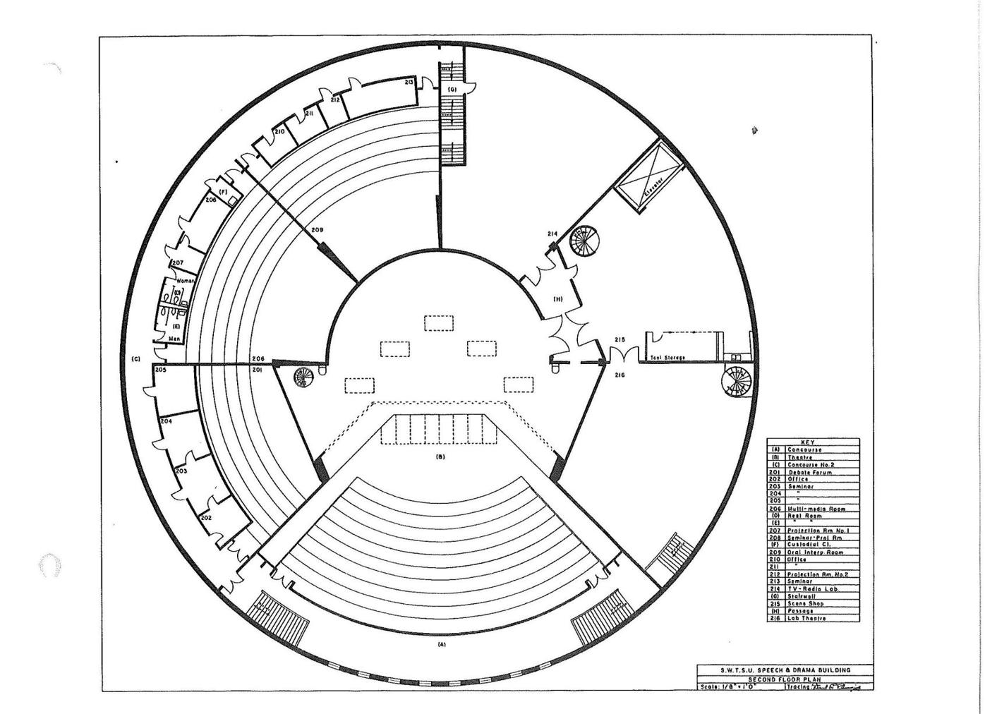 theatre center drawing