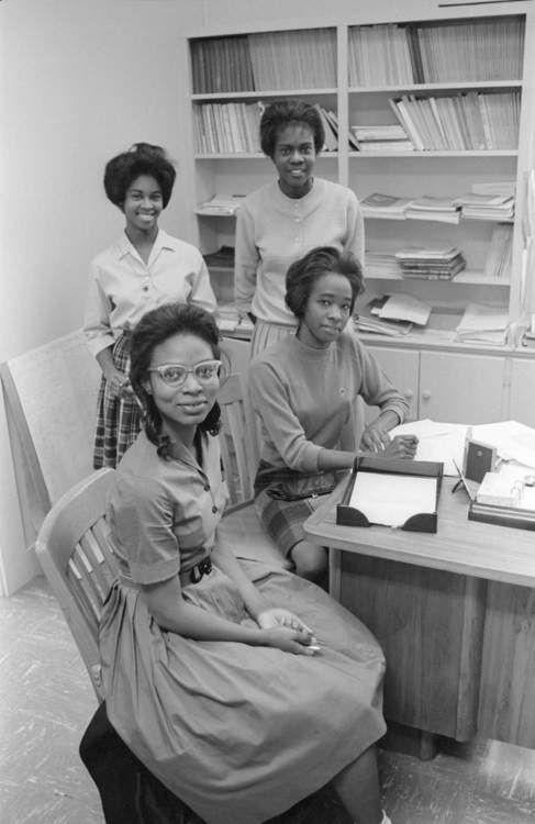 First five Black women at SWT