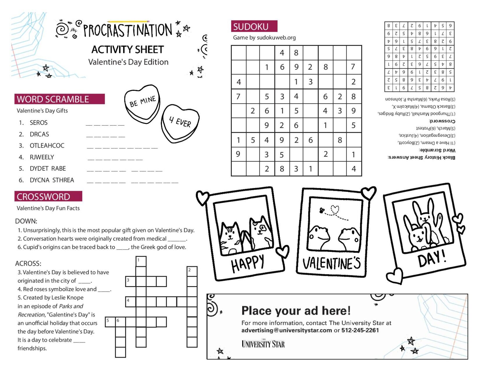 02/09 printable activity sheet.