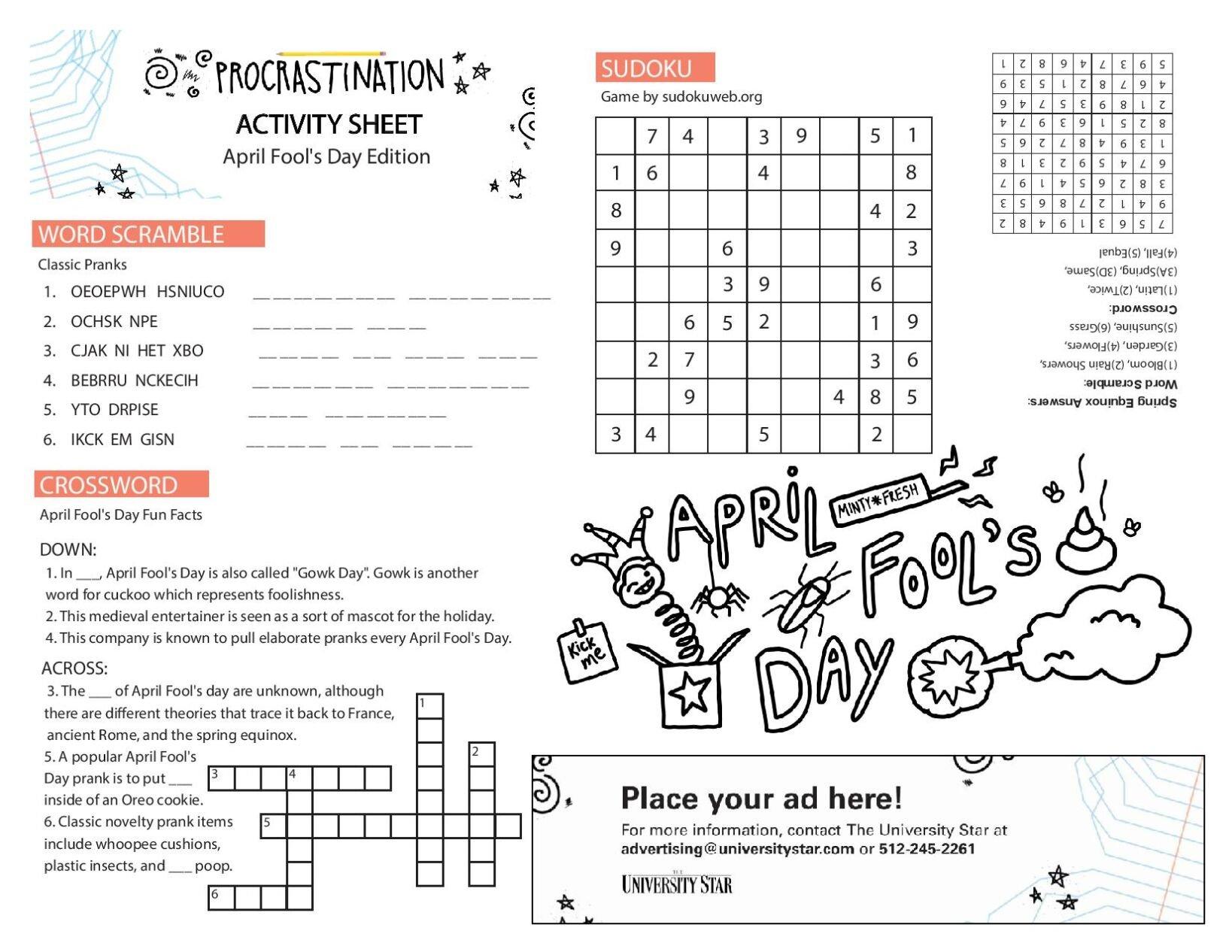 03/30 printable activity sheet.