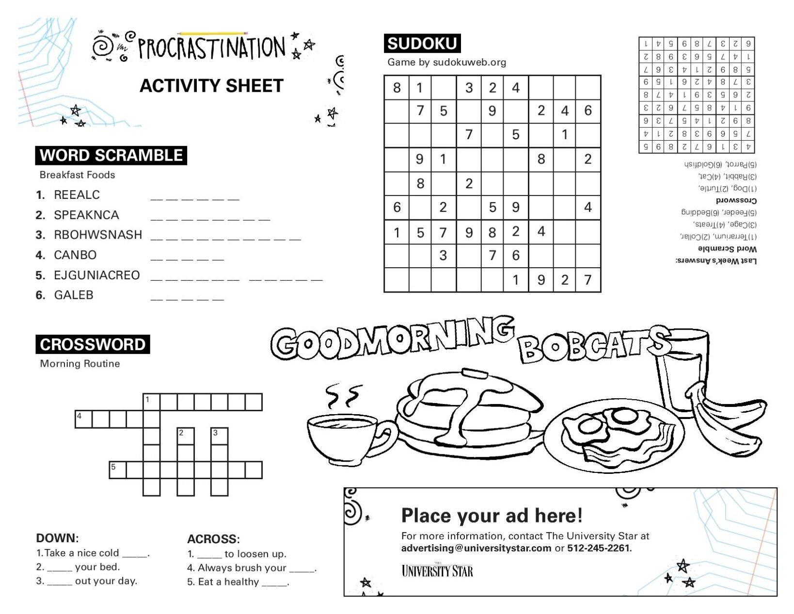 09/22 printable activity sheet.