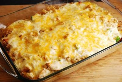 Image: Cheesy Chicken Casserole