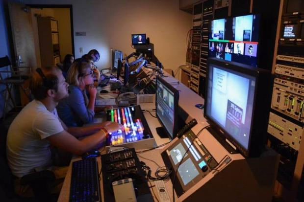 Scarizona team in the control room