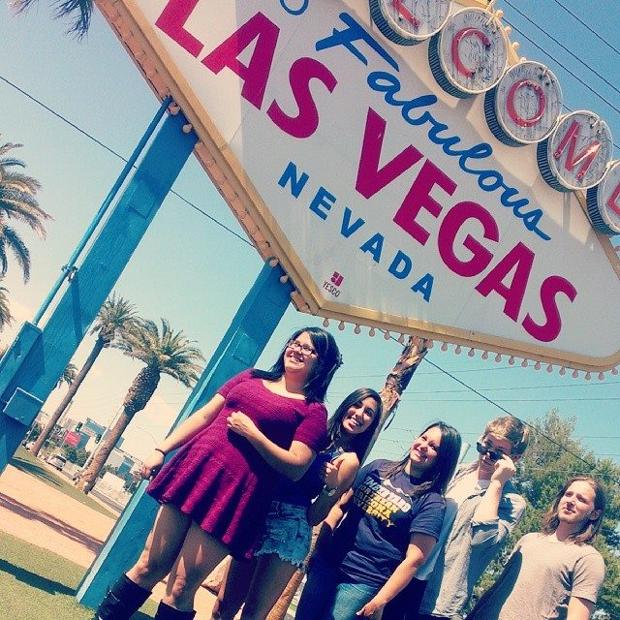 2014 staff members in Las Vegas