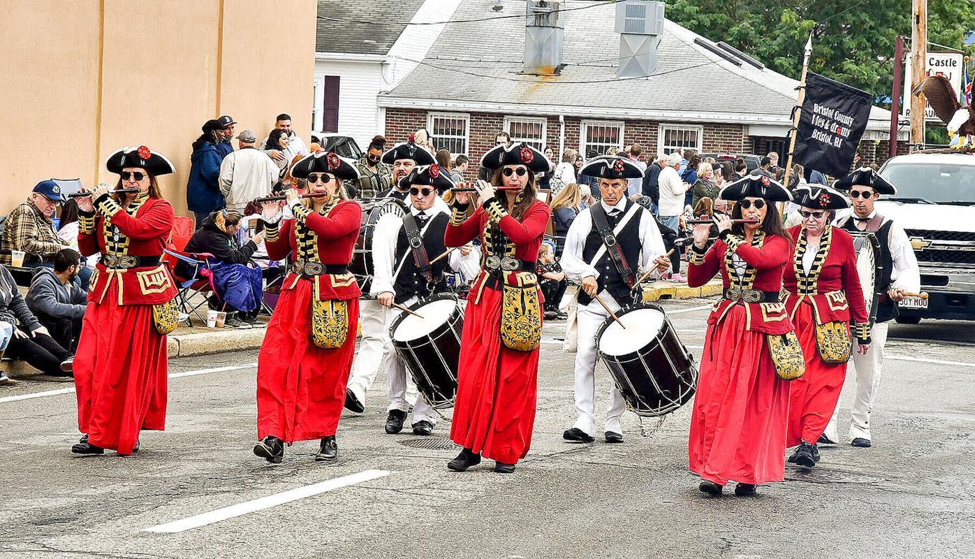 Autumnfest Parade Bristol County Fifes & Drums