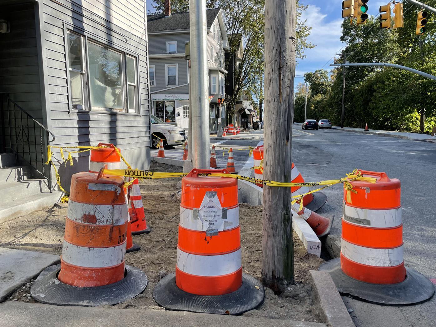 Broad Street construction