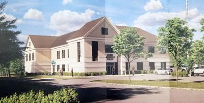 NS Police station rendering