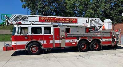NP new ladder truck