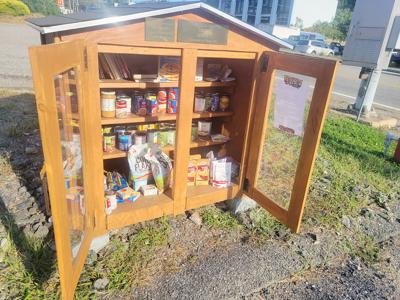 Girl Scout food pantry