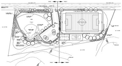 Foster Youth Athletic Field renderings from 2020
