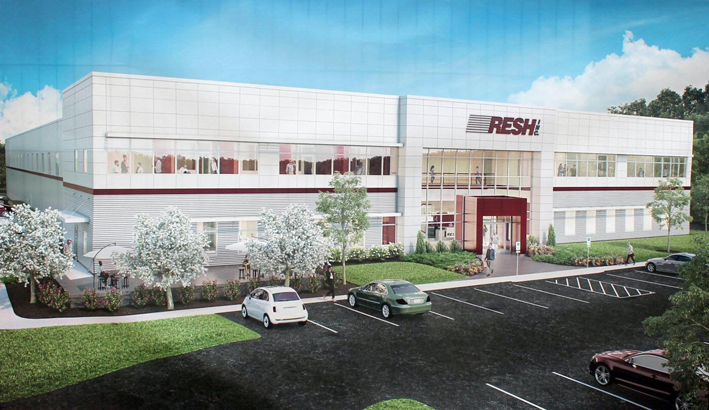 RESH Inc. breaks ground on Park East Drive facility