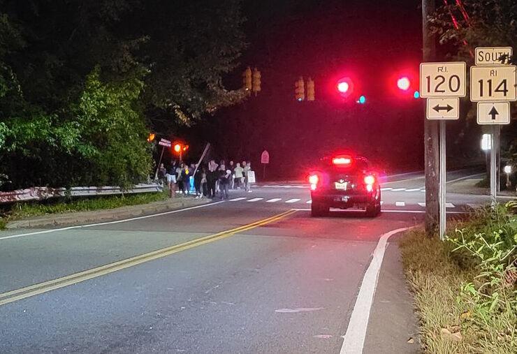 Cumberland protest