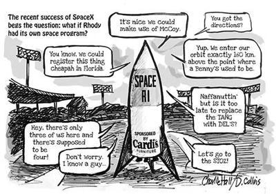 Charlie Hall Space ri