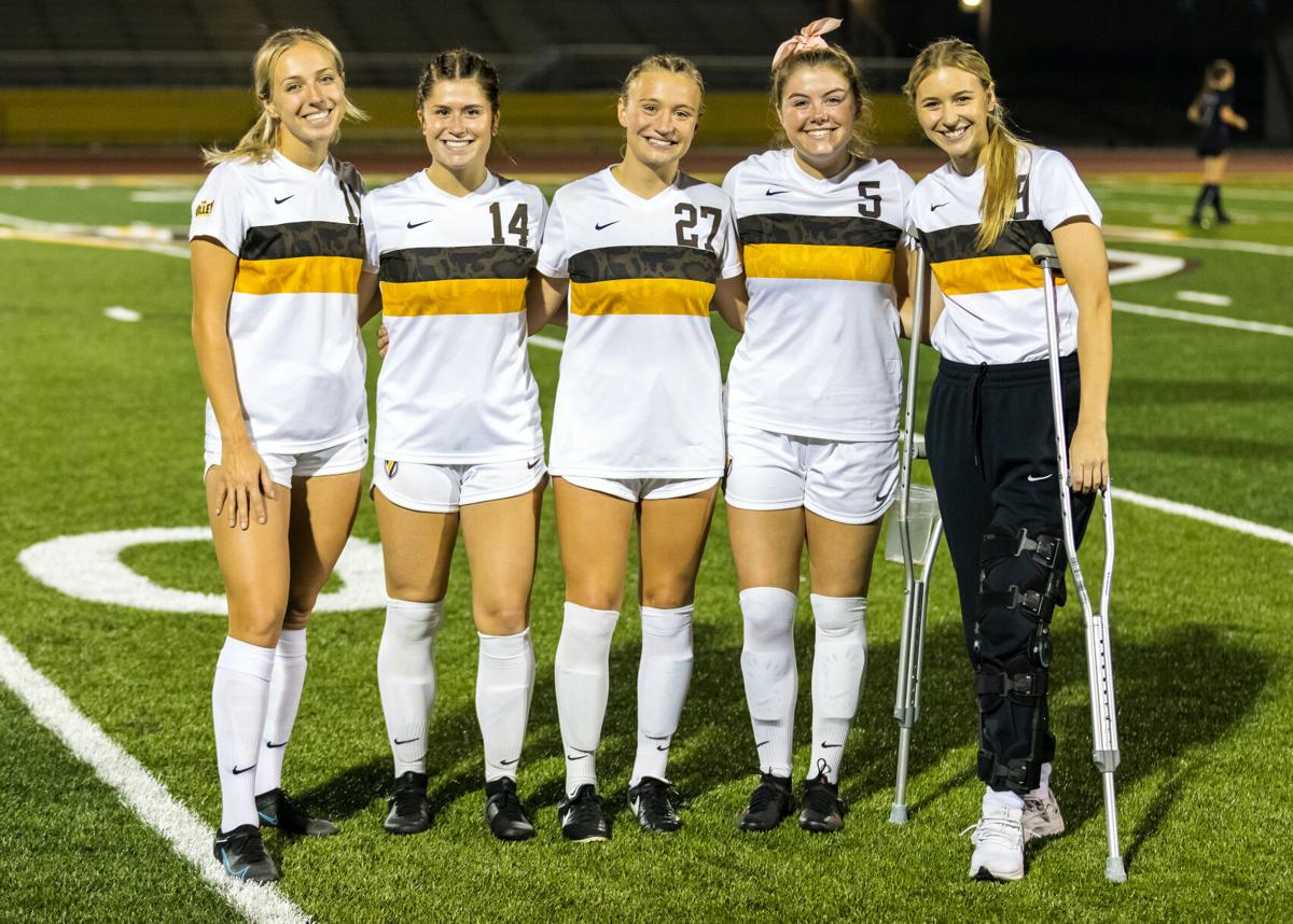Seniors honored in match against Cornell