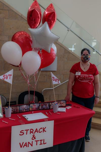 Strack & Van Til, a Northwest Indiana grocery store chain, attended the Jobs Fair.