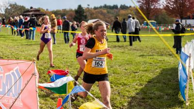 Cross country graduate finishes career with three majors, 4.0 GPA