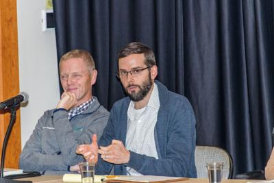 Four panelists share advice on accomodations, careers, life