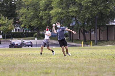 Men's softball league begins in fashion