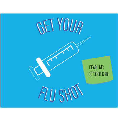 Flu shots required by Oct. 12