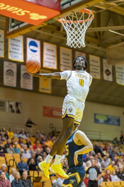 Javon Freeman scored 21 points against Cedarville at the Exhibition Game.