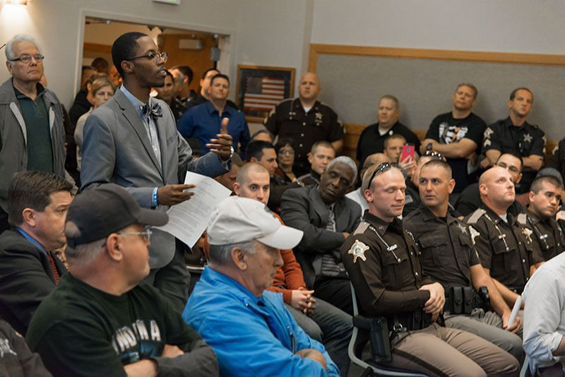 Police, local residents react to proposed resolution by Human Relations Council
