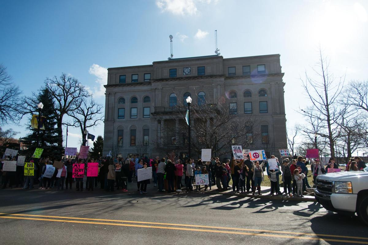 Valparaiso community rallies for a women's march