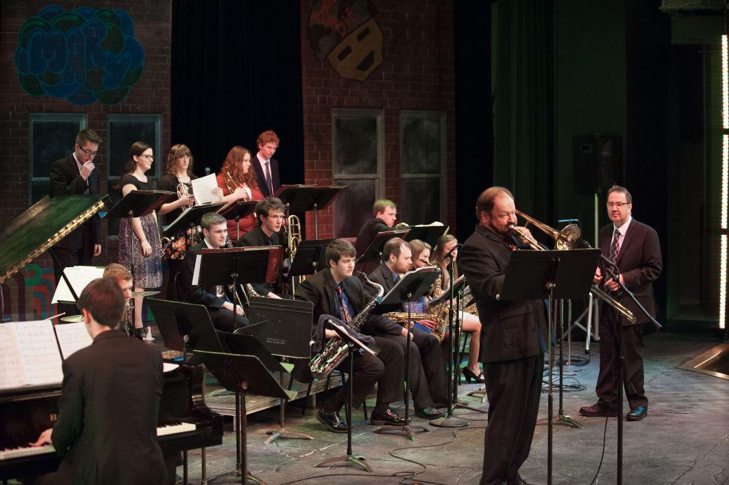 Jazz Ensemble features alumni, students