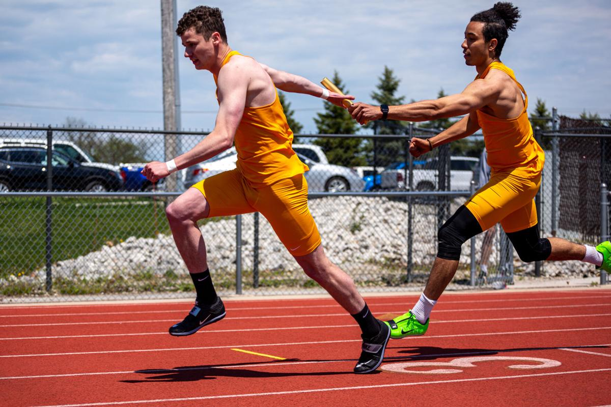 Individual athletes shine at track and field home meet
