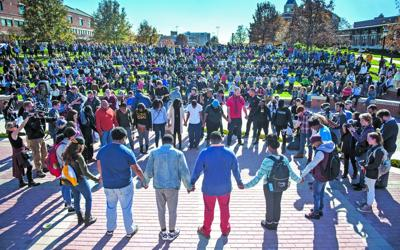 'Only shades of gray' on Mizzou campus
